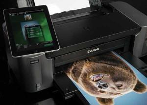 topratedprinters.com Canon Pixma Pro-100 printing photo